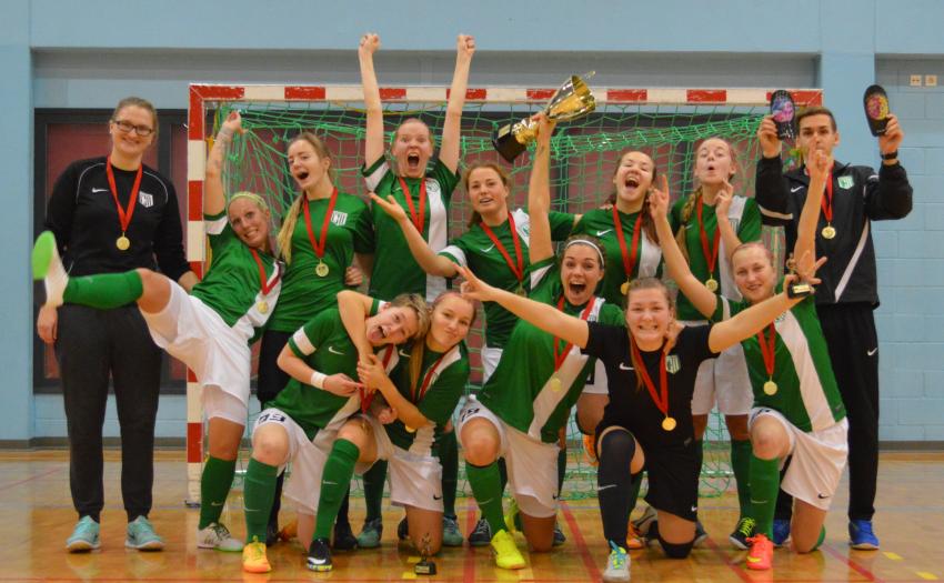 455ad2be4f6 Tallinna FC Flora võitis pingelise naiste turniiri, tugev teine koht SK10  ja kolmas JK Tammeka Sinine